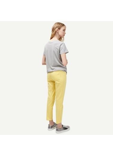 Yargıcı Spor Kesim Cepli Pantolon Sarı